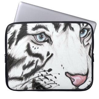 Sleeve Para Laptop Leopardo de neve