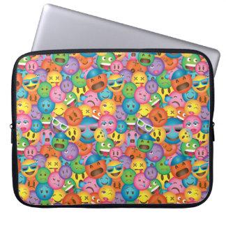 Sleeve Para Laptop Luva colorida do impressão de Emoji