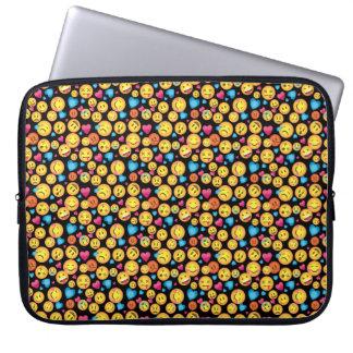 Sleeve Para Laptop Luva do impressão de Emoji do divertimento