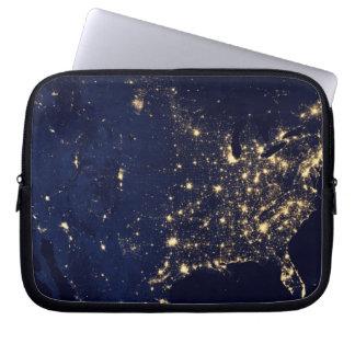 Sleeve Para Laptop Luzes da NASA do espaço EUA