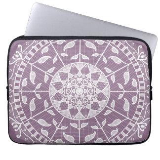 Sleeve Para Laptop Mandala das glicínias