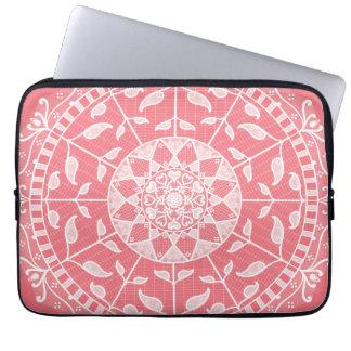 Sleeve Para Laptop Mandala do pêssego