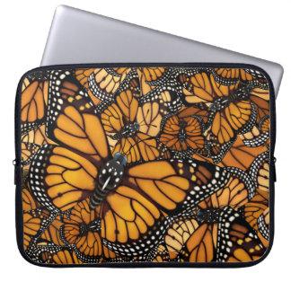 Sleeve Para Laptop Migração da borboleta de monarca