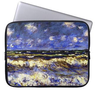 Sleeve Para Laptop Monet - um mar tormentoso