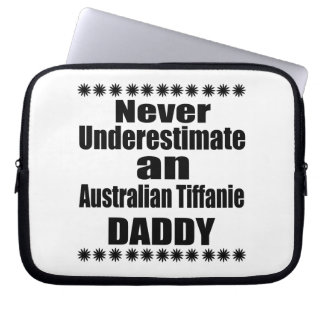 Sleeve Para Laptop Nunca subestime o pai de Tiffanie do australiano