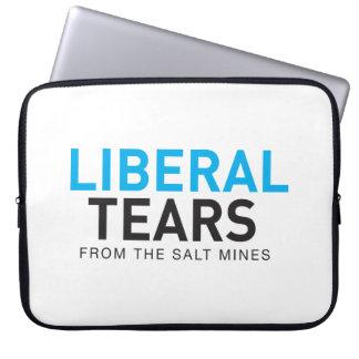 Sleeve Para Laptop O liberal rasga a luva do logotipo