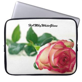 Sleeve Para Laptop O solteiro de HAMbyWG aumentou - a bolsa de laptop