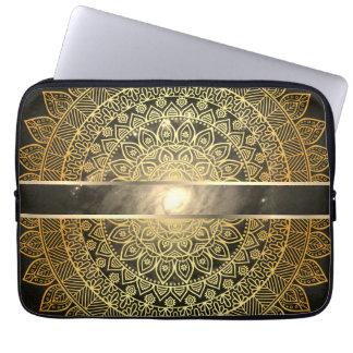 Sleeve Para Laptop Olho da galáxia/ouro