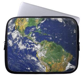 Sleeve Para Laptop Os Americas, como visto do espaço