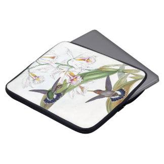 Sleeve Para Laptop Os animais selvagens dos pássaros do colibri