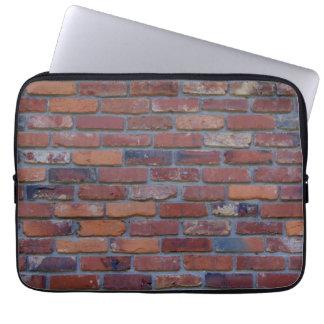 Sleeve Para Laptop Parede de tijolo - tijolos e almofariz misturados