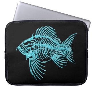 Sleeve Para Laptop Peixes fósseis