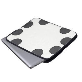 Sleeve Para Laptop Pontos DarkGrey Checkered