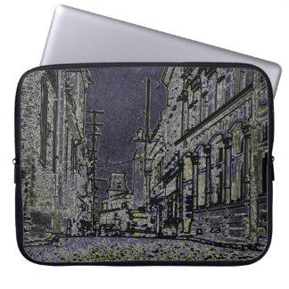 Sleeve Para Laptop ruas dos anos 20 da arte de Quebeque Canadá