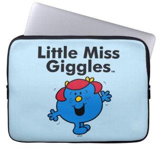 Sleeve Para Laptop Senhorita pequena pequena Riso Gosto Riso da