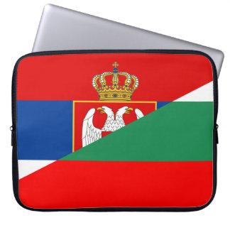 Sleeve Para Laptop símbolo do país da bandeira de serbia Bulgária