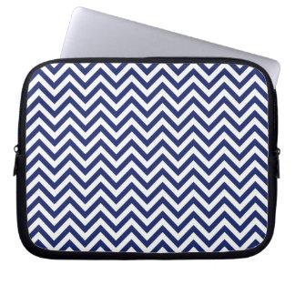 Sleeve Para Laptop Teste padrão de Chevron das listras do ziguezague