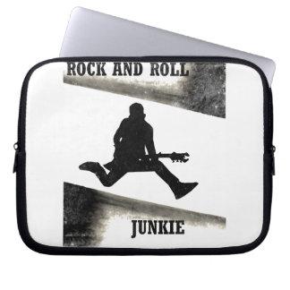 Sleeve Para Laptop Toxicómano do rock and roll