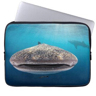 Sleeve Para Laptop Tubarão de baleia, vista dianteira, Indonésia