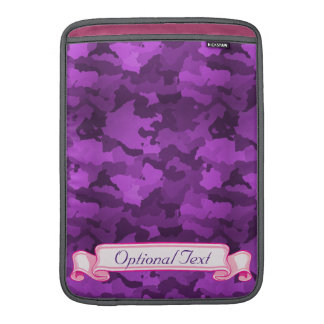 Sleeve Para MacBook Air Camo roxo