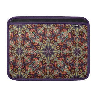 Sleeve Para MacBook Air Design floral do teste padrão do abstrato da