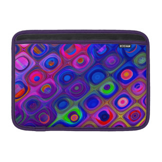 Sleeve Para MacBook Air Funky azul & roxo