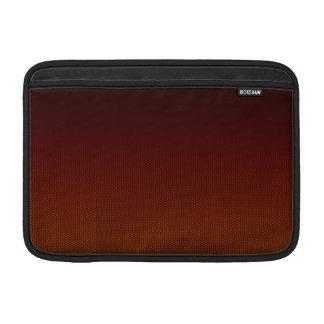 Sleeve Para MacBook Air Hex alaranjado do esmagamento
