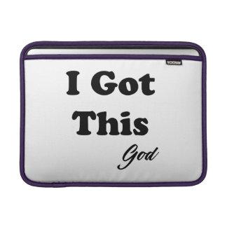 Sleeve Para MacBook Air Mensagem do deus