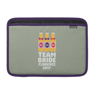 Sleeve Para MacBook Air Noiva Florença da equipe 2017 Zhy7k