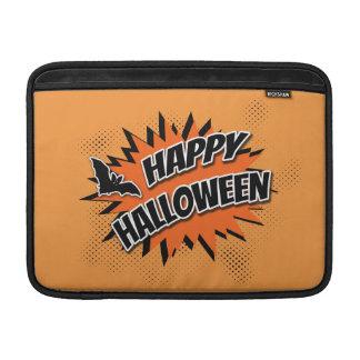 Sleeve Para MacBook Air O Dia das Bruxas feliz