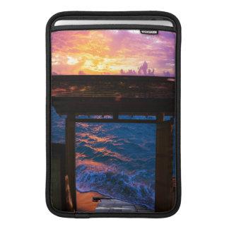Sleeve Para MacBook Air Por do sol na baía do paraíso