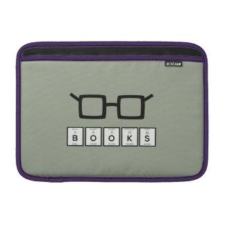 Sleeve Para MacBook Air Registra os vidros Zh6zg do nerd do elemento