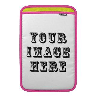 Sleeve Para MacBook Air Sua imagem das férias sobre
