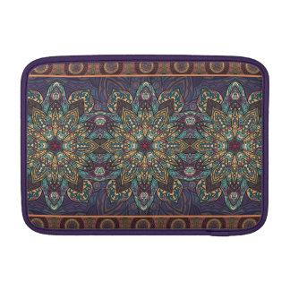 Sleeve Para MacBook Air Teste padrão floral étnico abstrato colorido da