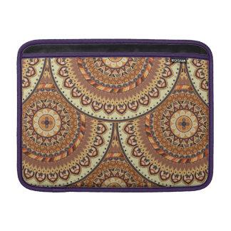Sleeve Para MacBook Air Teste padrão floral étnico abstrato colorido de da
