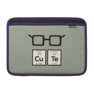 Sleeve Para MacBook Air Vidros bonitos Zwp34 do nerd do elemento químico