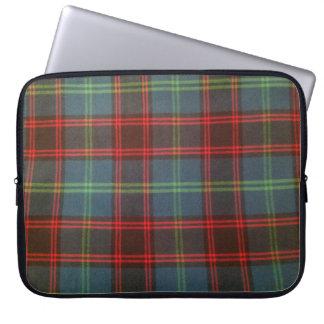 "Sleeve Para Notebook 15"" a bolsa de laptop Home/de Hume Tartan"