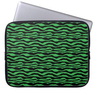 Sleeve Para Notebook A bolsa de laptop animal do impressão da zebra