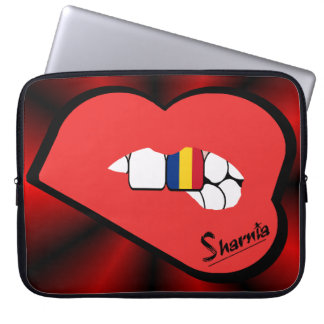 Sleeve Para Notebook A bolsa de laptop de Romania dos lábios de Sharnia
