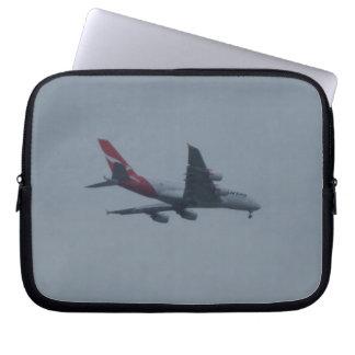 Sleeve Para Notebook A bolsa de laptop do neopreno dos aviões da