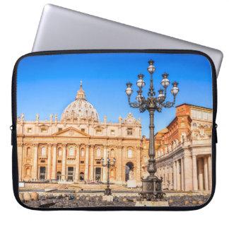 Sleeve Para Notebook A bolsa de laptop do neopreno um vaticano de 15