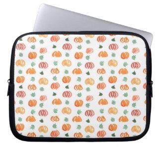 """Sleeve Para Notebook Abóboras com a bolsa de laptop 10"""" das folhas"""