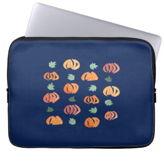 """Sleeve Para Notebook Abóboras com a bolsa de laptop 13"""" das folhas"""