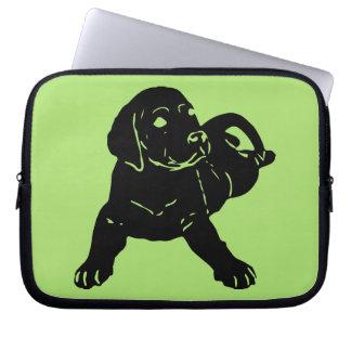 Sleeve Para Notebook Amor do laboratório! A bolsa de laptop