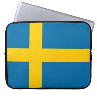 Sleeve Para Notebook Bandeira nacional da suecia