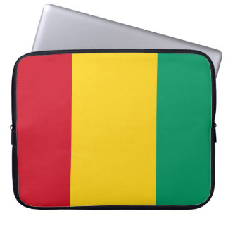 Sleeve Para Notebook Bandeira nacional do mundo da Guiné