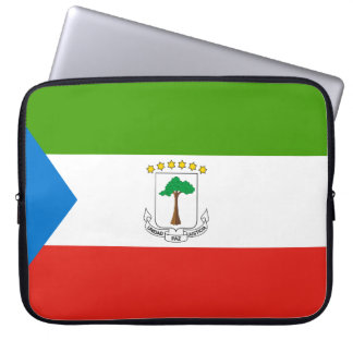 Sleeve Para Notebook Bandeira nacional do mundo da Guiné Equatorial