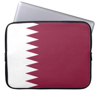 Sleeve Para Notebook Bandeira nacional do mundo de Qatar