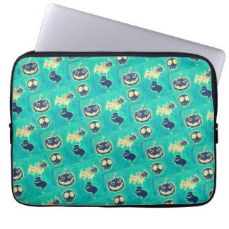 Sleeve Para Notebook capa leoprene para laptops tema dia das bruxas.