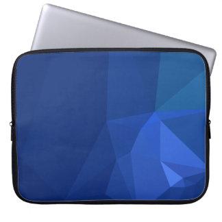Sleeve Para Notebook Design abstrato & limpo de Geo - marinho profundo
